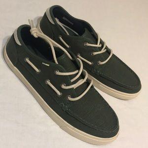 Men's Toms Shoes Olive Size 9 New